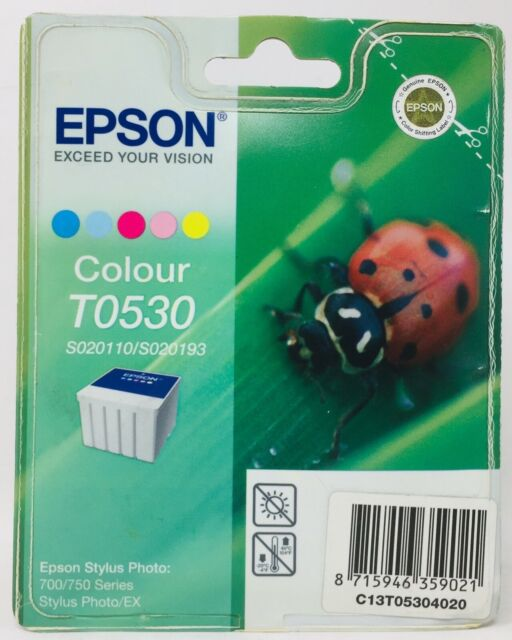 Epson T053 Ink Jet Original Colour Stylus Photo 700/750 Series/Ex