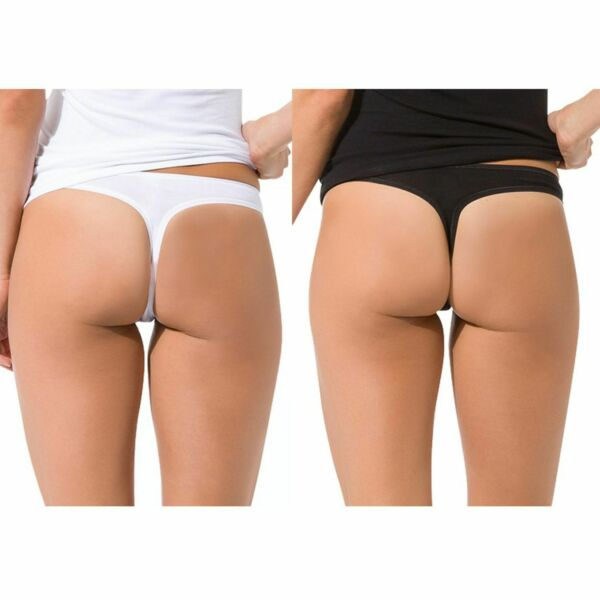 Skiny Damen Strings Advantage Women Thong Unterwäsche Baumwolle | 2 x 2er Pack
