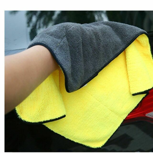 Car Wash Microfiber Towel Auto Cleaning Drying Cloth Hemming Super Absorbent CAR