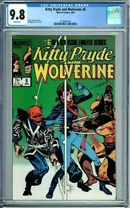 KITTY PRYDE AND WOLVERINE 1 2 3 4 5 6 ALL CGC 9.8 WP NEW CGC CASES Marvel 1984