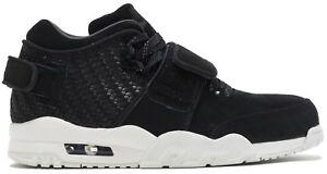 d91311379d2f NEW MENS Nike AIR TRAINER Victor CRUZ sz 9.5 BLACK WHITE Shoes ...