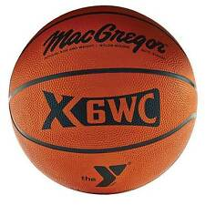 MacGregor Outdoor Men's YMCA Rubber Basketball, Size 29.5""