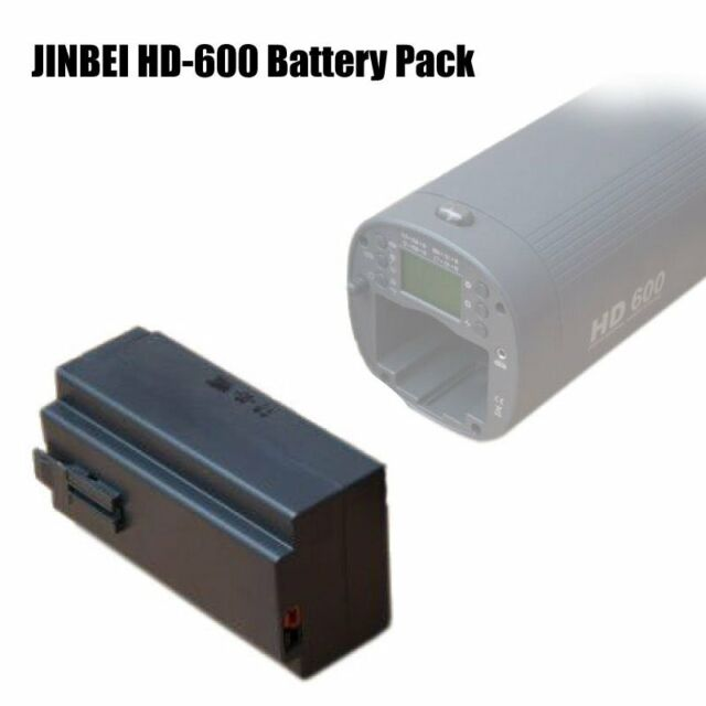6600mAh Li-Po Lithium Battery Pack fr JINBEI HD-600 II V Portable Flash Strobe
