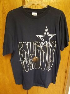 Image is loading Vintage-NFL-Dallas-Cowboys-Football-Sportswear-Fan-Navy- 7d6a5683e