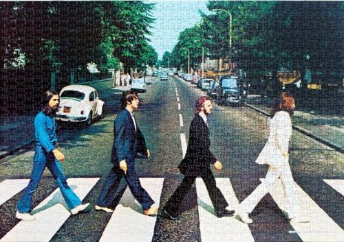 1000 Piece Jigsaw Puzzle The Beatles Abbey Road Rock Band John Paul Ringo George