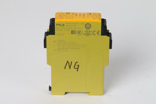 Pilz PNOZ X2.8P Safety Relay - Writing on Unit