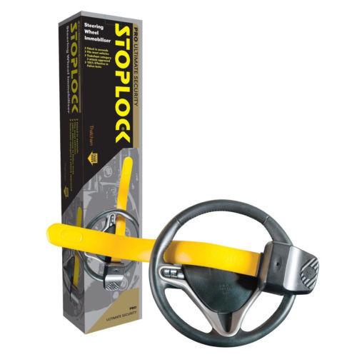 Stoplock Professional Pro Steering Wheel Lock Anti-Theft Thatcham Cat 3 Approved