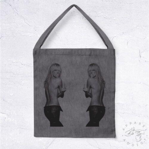 NEW Tote Bag Kate Moss BIO Girl Hype Hashtag Blog Tumblr Facebook Social Network