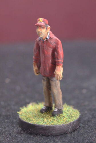Electric Football Sideline Coach Unpainted