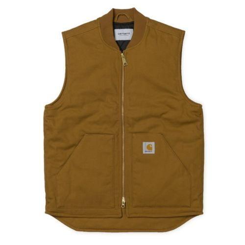 Carhartt WIP Vest, Dearborn, Hamilton Braun, XXL