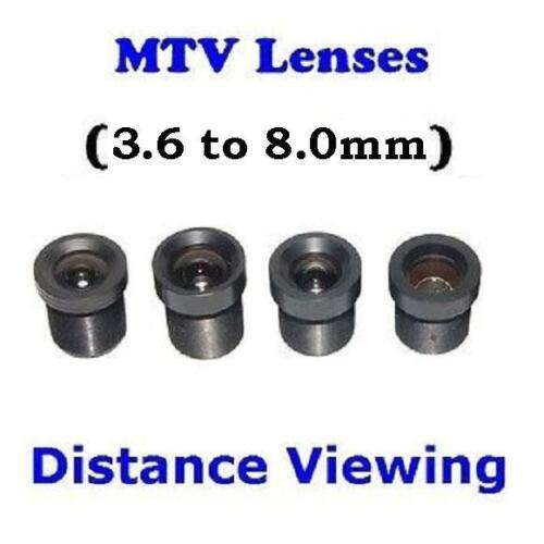 Sunvision CCTV Monofocal Board Mount M12 MTV Lens Set for Distance set of 4