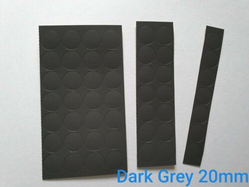 20 Mm Auto Adhésif Décoration Meubles Vis Trous Cover Caps stickers