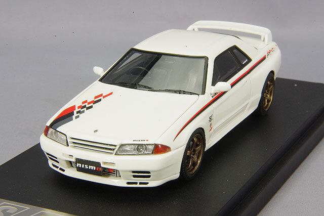 1/43 Mark43 Nissan Skyline GT-R R32 NISMO S-Tune White PM4326W