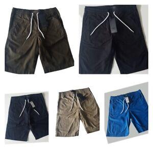 Volumen groß erstklassiges echtes schnüren in Details zu Herren PRODUKT Chino Shorts kurze Hose Basic Bermuda 100%  Baumwolle Unifarben