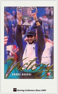 1996 Blitz Australia Tennis Trading Card Victory Subset V4 Jim Courier