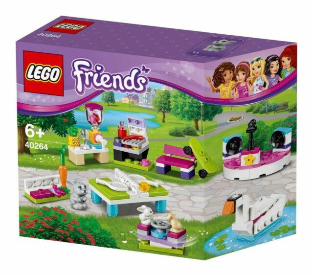 NEW SEALED LEGO FRIENDS BUILD MY HEARTLAKE CITY ACCESSORY SET 40264