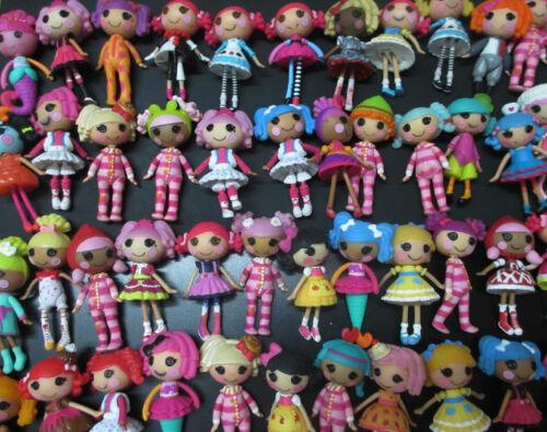 LOT OF 12 Mini Lalaloopsy Doll FIGURES by random #dsd4