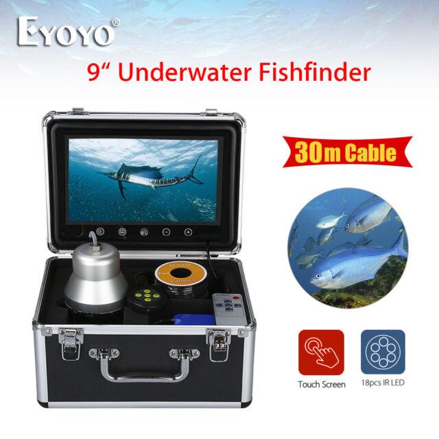 "EYOYO 1000TVL 30M 9"" 360° Fishfinder Underwater Adventure Camera With Sunshade"