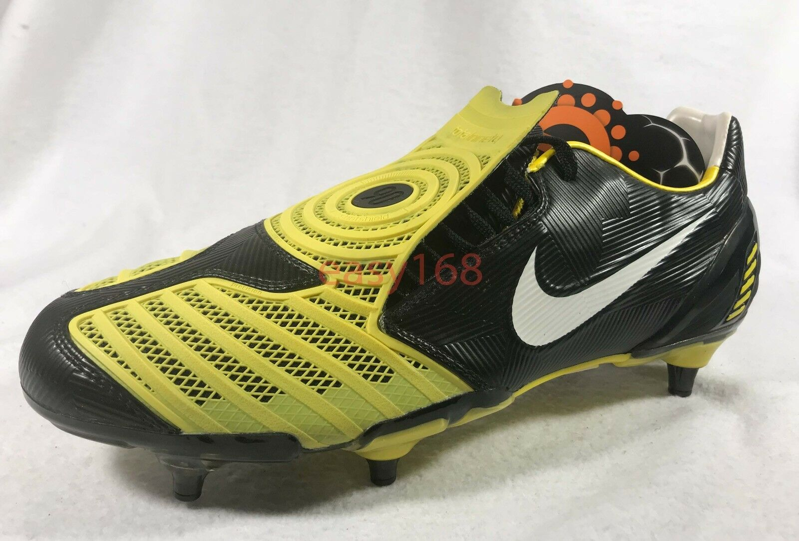 New Nike Total90 Laser II SG Sz 12.5 Soccer 47 Cleats 355869 Mens Promo Yellow
