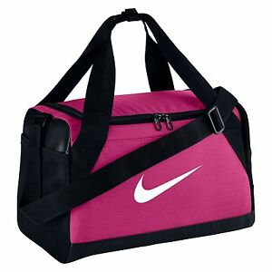 8f80d86ec0 Image is loading Nike-BRASILIA-XS-DUFFEL-BAG-Pink-BA5432-616-
