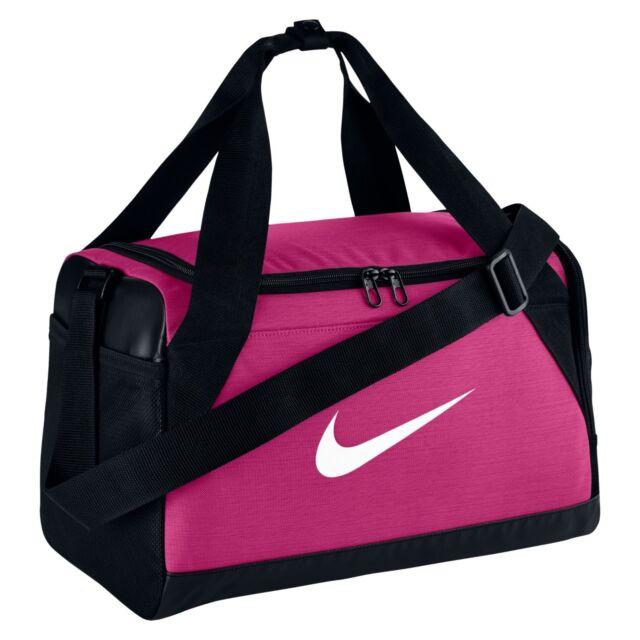 a9806556e8 Nike Brasilia Duffel Bag Extra Small Vivid Pink black white Ba5432 ...