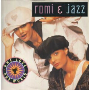 ROMI-AND-JAZZ-One-Love-One-World-12-034-MAXI-VINYL-UK-Chrysalis-4-Track-B-w-Unity