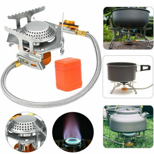 Folding Portable Gas-Burner Fishing Outdoor Cooking Camping Picnic Cook Stove UK
