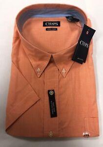 9134f5f850e Big and Tall - Chaps Ralph Lauren - Short Sleeve Button Down Shirt ...