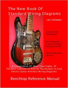 Details about Schatten Book of Standard Wiring Diagrams for Guitar/B on