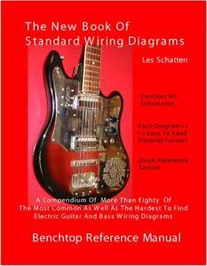 schatten book of standard wiring diagrams for guitar bass pickups