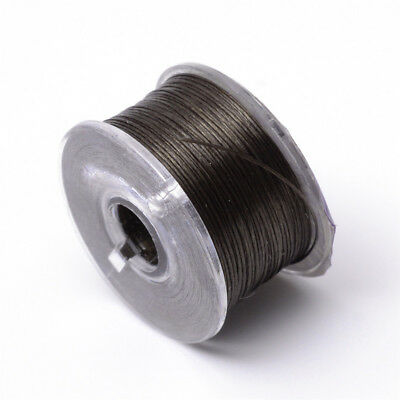 Coconut Brown Special Coated Polyester Threads For Seed Beads 0.1mm about 50yard