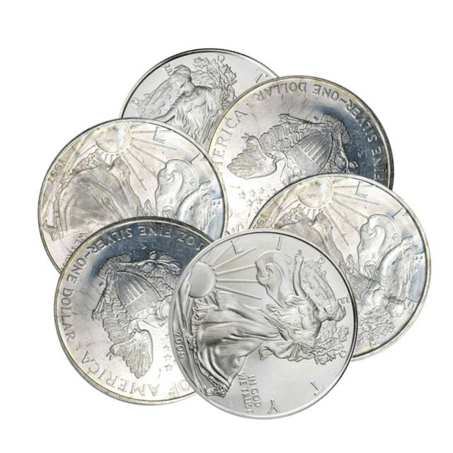 Milky, Cull, Damaged, Circulated, Cleaned 1 oz Silver Canadian Maple Leaf