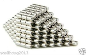 50pcs-N50-Super-Strong-Round-Disc-Cylinder-Magnets-4-x-6-mm-Rare-Earth-Neodymium