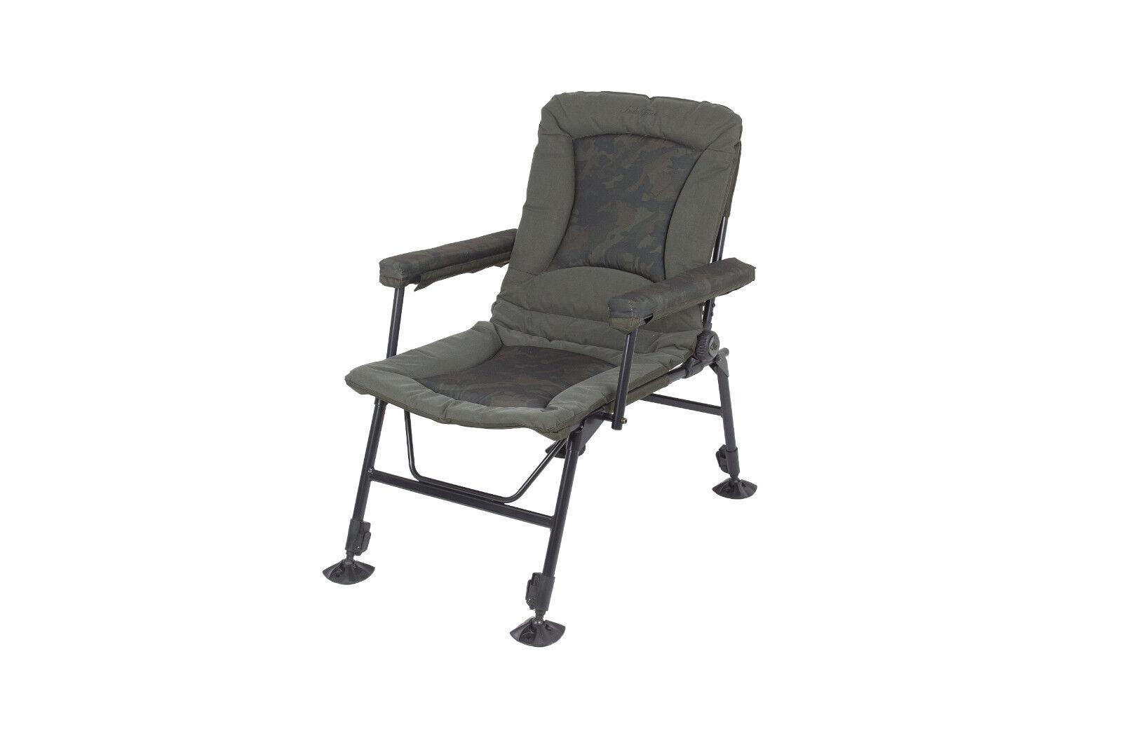 Nash Indulgence Daddy Long Legs camo Chair t9751 karpfenstuhl angel silla