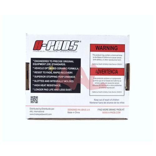 AAL Rear BRAKE PADS For 2005 2006 CHEVROLET SUBURBAN 1500 4 pcs