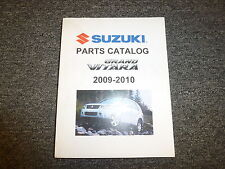 2010 Suzuki Grand Vitara Parts Catalog Manual Premium XSport Limited Special JLX