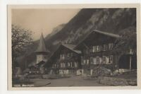 Switzerland, Meiringen RP Postcard, B203