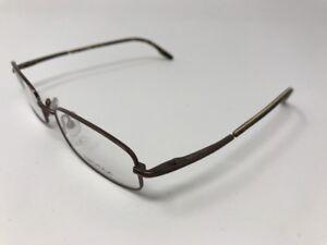 6a8b4eeb069 NEW NAUTICA MENS Eyeglasses N7093-006 52-19-135 Glossy Matte Brown ...