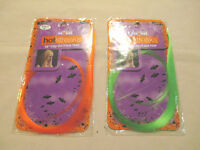 Scunci 18 Hot Streak Clip-on Faux Hair Orange Or Green Hair 2 Packages