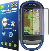 3x Clear Anti-glare Screen Protector Magellan Explorist 510 610 710 Topo Hiking