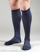 Activa Men's Socks Casual Patterned Compression Support 15-20 Mmhg, Knee High