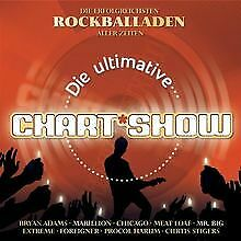 Die-Ultimative-Chartshow-Rockballaden-von-Various-Artists-CD-Zustand-gut