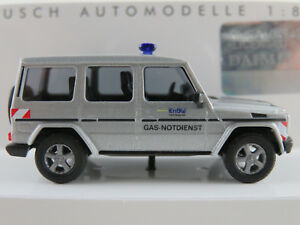 Busch-51414-Mercedes-Benz-G-Klasse-1990-034-EnBW-Gas-Notdienst-034-1-87-H0-NEU-OVP