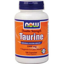 TAURINE 100 Caps 1000 mg by Now Foods
