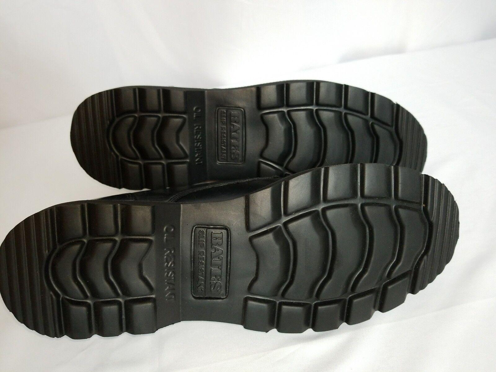 Bates Enforcer Series M Black Hi-Gloss Duty OxfordMen's 7.5 M Series Work/Dress New 513ac1