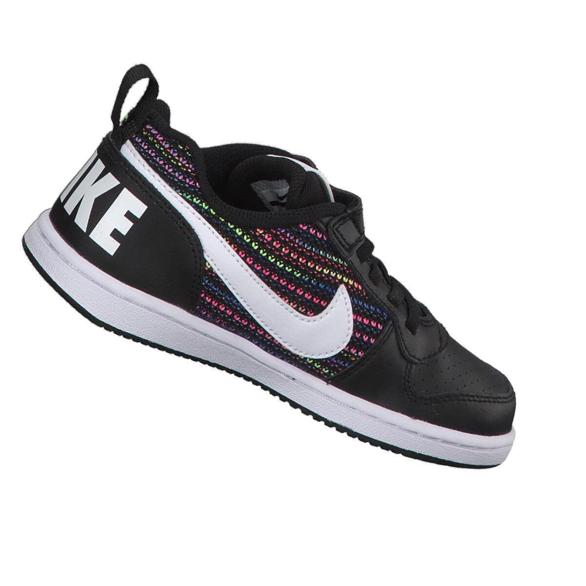 Dettagli su Scarpa Nike court borough bambina ragazza sneakers moda tempo libero palestra