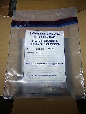 50 X Sicherheitstaschen Safebags Moneybags Debatin 395 X 470 +85mm ,neu