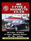 MG Y-Type & Magnette ZA/ZB Road Test Portfolio by Brooklands Books Ltd (Paperback, 2009)