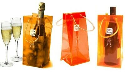 Ice bag basic rosa secchiello borsa portaghiaccio porta bottiglie vino spumante