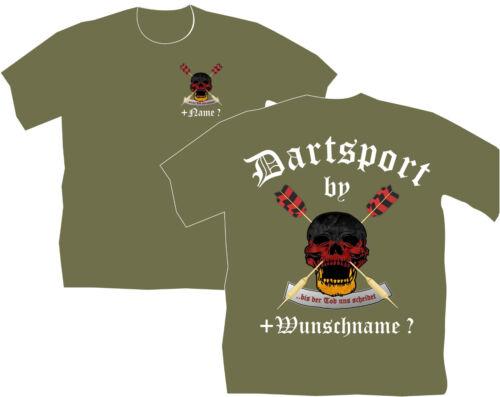 Dartshirt Dart T Shirt Hemde vêtements dartclub Skull Crânes Tête 38